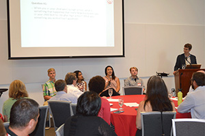 Student panel at July Community Forum